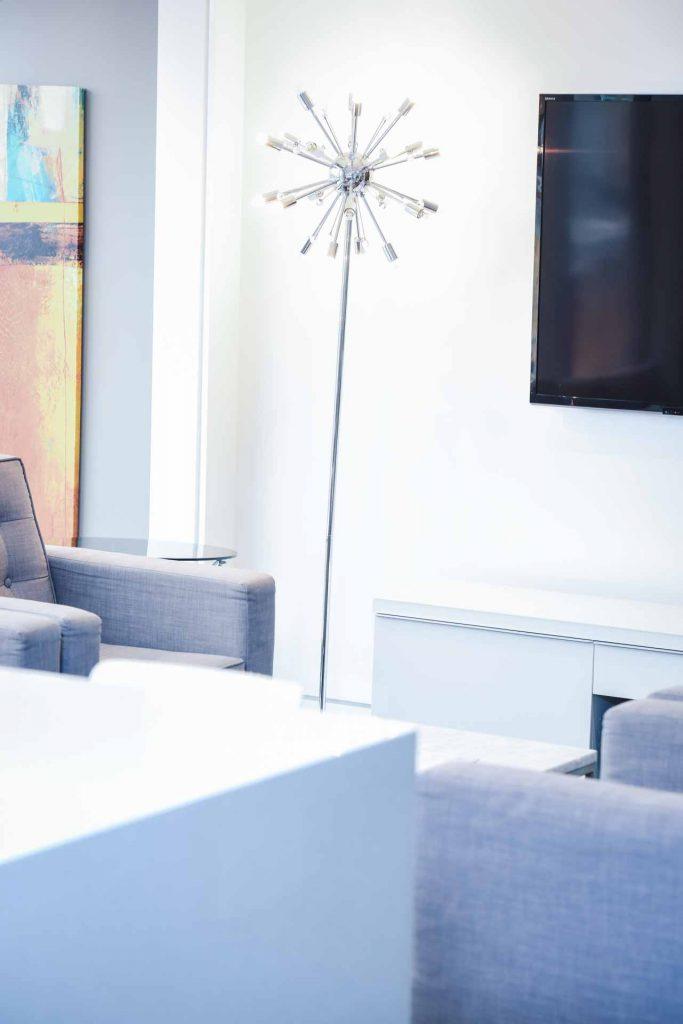 Reception Area | Key Prosthodontics | Calgary and Surrounding Area | Prosthodontic Specialist