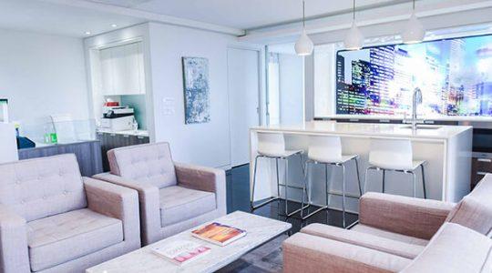 Welcoming Reception Area | Key Prosthodontics | Calgary and Surrounding Area | Prosthodontic Specialist